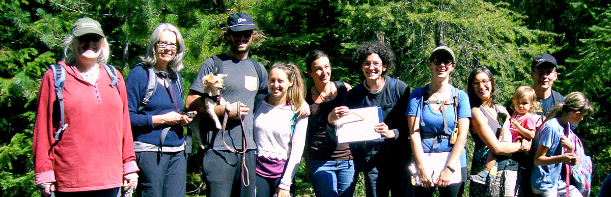 group of bark volunteers